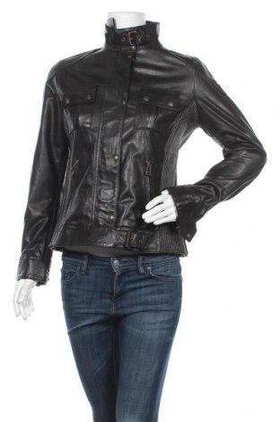 Γυναικείο δερμάτινο μπουφάν Belstaff, Μέγεθος M, Χρώμα Μαύρο, Γνήσιο δέρμα, Τιμή 335,96€