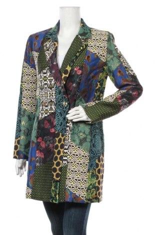 Γυναικείο παλτό Desigual, Μέγεθος M, Χρώμα Πολύχρωμο, 57% πολυεστέρας, 27% βαμβάκι, 7%ακρυλικό, 7% βισκόζη, Τιμή 161,99€