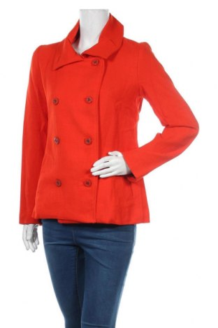 Γυναικείο παλτό Desigual, Μέγεθος M, Χρώμα Πορτοκαλί, Πολυεστέρας, Τιμή 84,67€