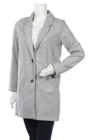 Γυναικείο παλτό H&M Divided, Μέγεθος S, Χρώμα Γκρί, 89% πολυεστέρας, 10% βισκόζη, 1% ελαστάνη, Τιμή 24,68€