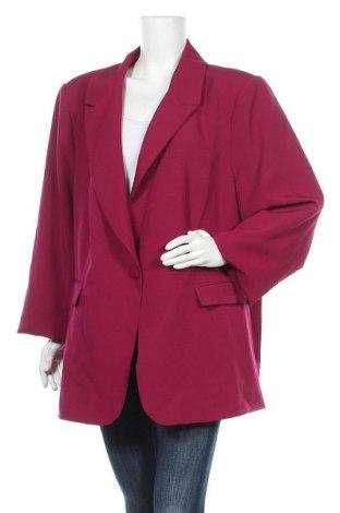 Γυναικείο σακάκι City Chic, Μέγεθος 3XL, Χρώμα Βιολετί, 95% πολυεστέρας, 5% ελαστάνη, Τιμή 32,12€