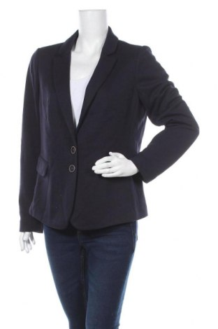 Γυναικείο σακάκι Comma,, Μέγεθος XL, Χρώμα Μπλέ, 65% πολυεστέρας, 35% βισκόζη, Τιμή 55,73€