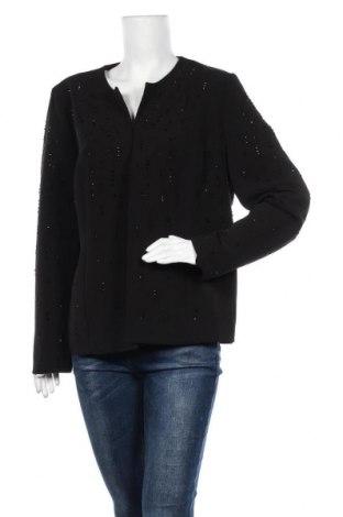 Γυναικείο σακάκι Gina Laura, Μέγεθος XL, Χρώμα Μαύρο, 93% πολυεστέρας, 7% ελαστάνη, Τιμή 12,18€