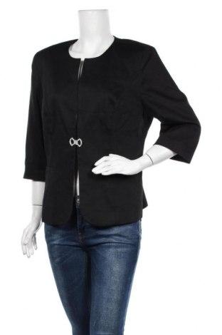 Дамско сако Gloockler, Размер XL, Цвят Черен, 97% памук, 3% еластан, Цена 49,14лв.
