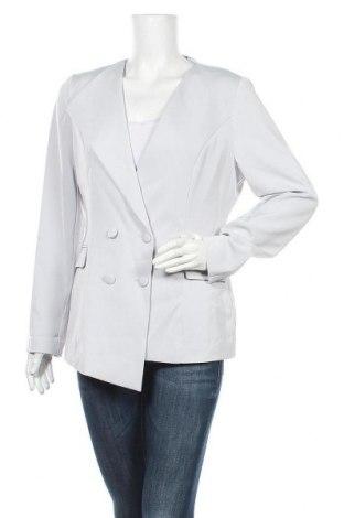Γυναικείο σακάκι Lavish Alice, Μέγεθος L, Χρώμα Γκρί, 98% πολυεστέρας, 2% ελαστάνη, Τιμή 28,50€