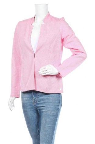 Γυναικείο σακάκι Tom Tailor, Μέγεθος L, Χρώμα Ρόζ , 76% βαμβάκι, 21% πολυεστέρας, 3% ελαστάνη, Τιμή 29,73€