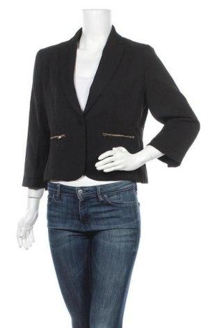 Γυναικείο σακάκι Usco, Μέγεθος L, Χρώμα Μαύρο, 95% πολυεστέρας, 5% ελαστάνη, Τιμή 28,50€