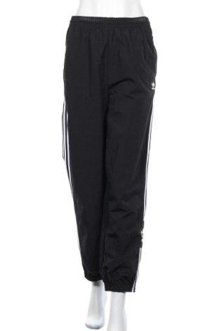 Дамско спортно долнище Adidas Originals, Размер XL, Цвят Черен, Полиестер, Цена 31,92лв.