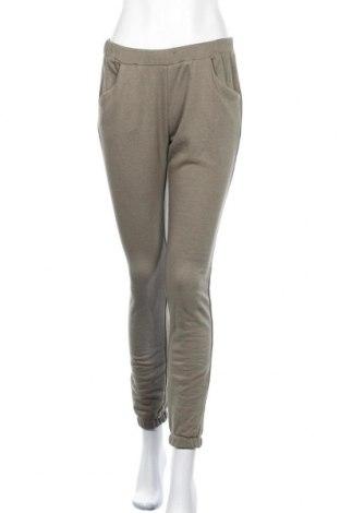Дамско спортно долнище Bewear, Размер M, Цвят Зелен, 88% памук, 12% полиестер, Цена 19,32лв.