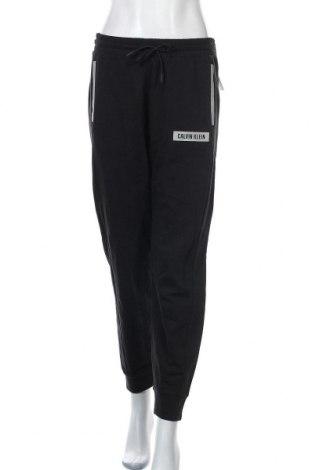 Γυναικείο αθλητικό παντελόνι Calvin Klein, Μέγεθος M, Χρώμα Μαύρο, 100% βαμβάκι, Τιμή 39,26€