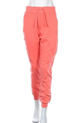 Дамско спортно долнище Cubus, Размер S, Цвят Оранжев, Памук, Цена 18,48лв.