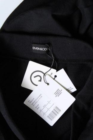 Дамско спортно долнище Even&Odd, Размер L, Цвят Черен, 60% памук, 40% полиестер, Цена 18,40лв.