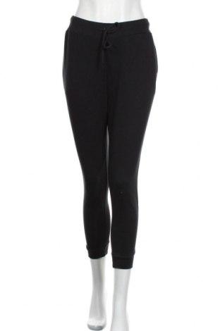 Дамско спортно долнище Even&Odd, Размер M, Цвят Черен, 60% памук, 40% полиестер, Цена 18,40лв.
