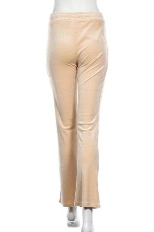 Дамско спортно долнище Gina Tricot, Размер S, Цвят Бежов, 95% полиестер, 5% еластан, Цена 13,80лв.