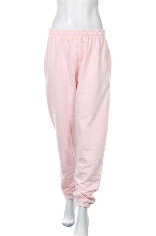 Дамско спортно долнище Missguided, Размер XL, Цвят Розов, 60% памук, 40% полиестер, Цена 19,74лв.