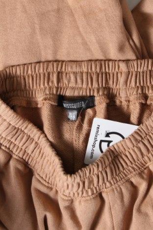 Дамско спортно долнище Missguided, Размер M, Цвят Кафяв, 60% памук, 40% полиестер, Цена 31,50лв.
