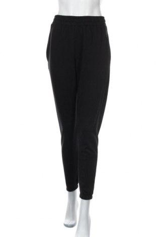 Дамско спортно долнище Missguided, Размер M, Цвят Черен, 60% памук, 40% полиестер, Цена 18,06лв.