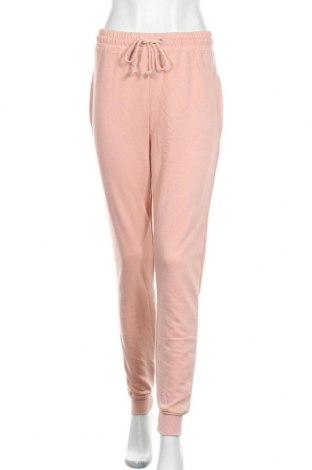 Дамско спортно долнище Missguided, Размер M, Цвят Розов, 60% памук, 40% полиестер, Цена 33,00лв.
