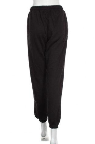 Дамско спортно долнище Missguided, Размер M, Цвят Черен, 60% полиестер, 40% памук, Цена 22,26лв.