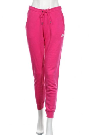 Γυναικείο αθλητικό παντελόνι Nike, Μέγεθος S, Χρώμα Ρόζ , 80% βαμβάκι, 20% πολυεστέρας, Τιμή 32,25€