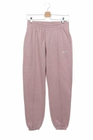 Γυναικείο αθλητικό παντελόνι Nike, Μέγεθος XS, Χρώμα Ρόζ , 80% βαμβάκι, 20% πολυεστέρας, Τιμή 34,70€