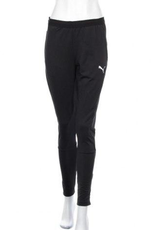 Дамско спортно долнище PUMA, Размер S, Цвят Черен, Полиестер, Цена 41,28лв.