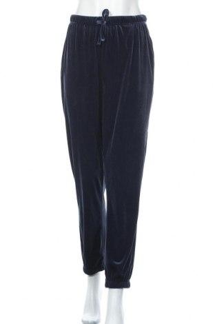 Γυναικείο αθλητικό παντελόνι Pieces, Μέγεθος XL, Χρώμα Μπλέ, 95% πολυεστέρας, 5% ελαστάνη, Τιμή 18,95€