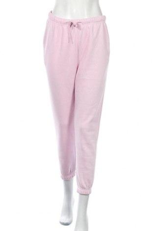 Γυναικείο αθλητικό παντελόνι Pieces, Μέγεθος M, Χρώμα Ρόζ , 60% βαμβάκι, 40% πολυεστέρας, Τιμή 16,24€