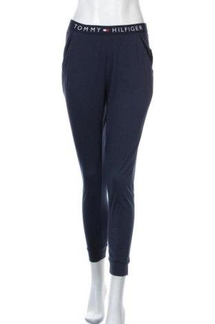 Γυναικείο αθλητικό παντελόνι Tommy Hilfiger, Μέγεθος S, Χρώμα Μπλέ, Βαμβάκι, Τιμή 41,71€