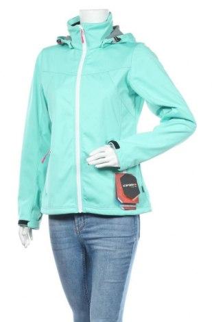 Γυναικείο μπουφάν αθλητικό Icepeak, Μέγεθος M, Χρώμα Πράσινο, 100% πολυεστέρας, Τιμή 46,01€