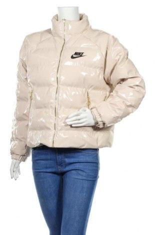 Dámská sportovní bunda  Nike, Velikost S, Barva Béžová, Polyester, Cena  3141,00Kč