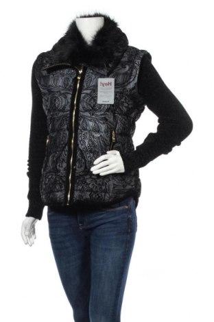 Γυναικείο μπουφάν Desigual, Μέγεθος M, Χρώμα Μαύρο, Πολυεστέρας, Τιμή 108,75€