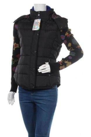 Γυναικείο μπουφάν Desigual, Μέγεθος M, Χρώμα Μαύρο, 64% βαμβάκι, 36% πολυεστέρας, Τιμή 108,75€