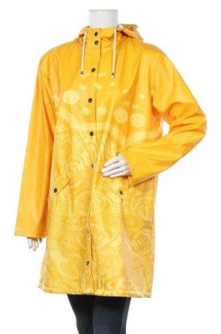 Γυναικείο μπουφάν Desigual, Μέγεθος XL, Χρώμα Κίτρινο, Πολυουρεθάνης, Τιμή 66,25€