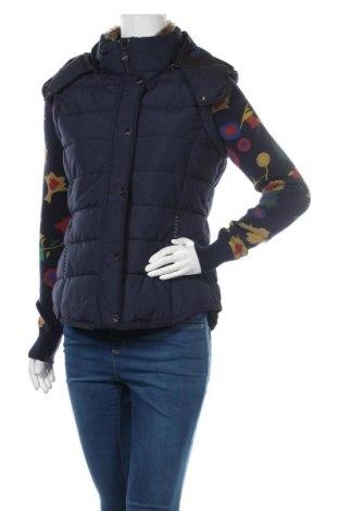 Γυναικείο μπουφάν Desigual, Μέγεθος M, Χρώμα Μπλέ, 64% βαμβάκι, 36% πολυεστέρας, Τιμή 108,75€