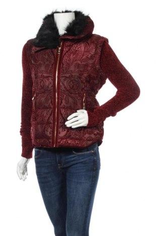 Γυναικείο μπουφάν Desigual, Μέγεθος M, Χρώμα Κόκκινο, Πολυεστέρας, Τιμή 108,75€