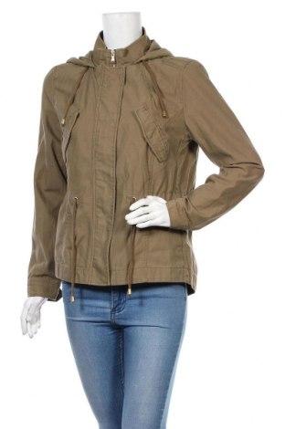 Γυναικείο μπουφάν H&M Divided, Μέγεθος M, Χρώμα Πράσινο, Βαμβάκι, Τιμή 17,63€