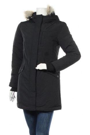 Γυναικείο μπουφάν Tommy Hilfiger, Μέγεθος S, Χρώμα Μαύρο, Πολυαμίδη, φτερά και πούπουλα, Τιμή 185,05€
