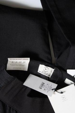 Дънки за бременни Cotton On, Размер XS, Цвят Черен, 73% памук, 25% полиестер, 2% еластан, Цена 10,99лв.