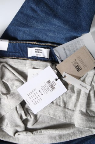 Дънки за бременни Mamalicious, Размер S, Цвят Син, 99% памук, 1% еластан, Цена 41,28лв.