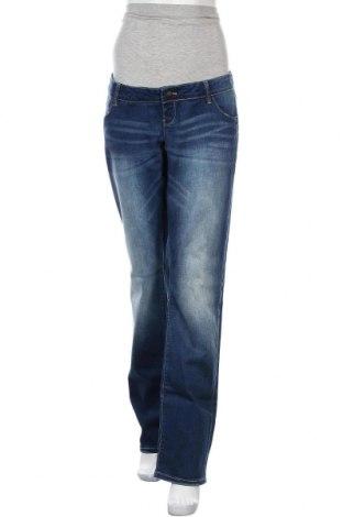 Дънки за бременни Mamalicious, Размер XL, Цвят Син, 99% памук, 1% еластан, Цена 29,69лв.