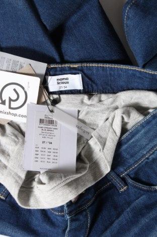 Дънки за бременни Mamalicious, Размер M, Цвят Син, 99% памук, 1% еластан, Цена 41,28лв.