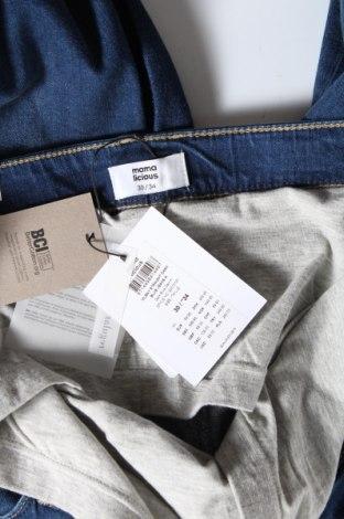 Дънки за бременни Mamalicious, Размер L, Цвят Син, 99% памук, 1% еластан, Цена 29,69лв.