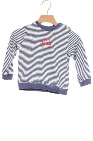 Детска блуза Fagottino By Oviesse, Размер 12-18m/ 80-86 см, Цвят Син, Памук, Цена 9,60лв.