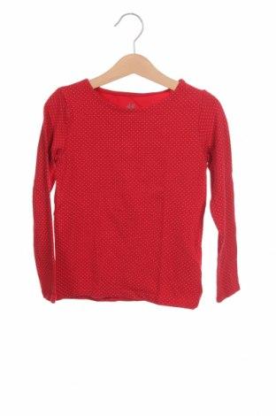 Dětská halenka  H&M, Velikost 4-5y/ 110-116 cm, Barva Červená, 95% bavlna, 5% elastan, Cena  263,00Kč