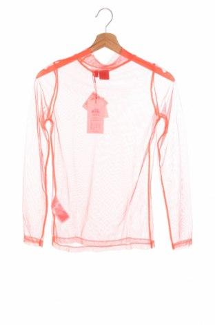 Bluză pentru copii LMTD, Mărime 12-13y/ 158-164 cm, Culoare Roz, Poliester, Preț 11,37 Lei