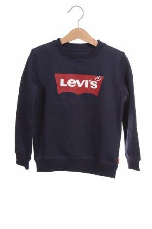 Παιδική μπλούζα Levi's, Μέγεθος 3-4y/ 104-110 εκ., Χρώμα Μπλέ, 70% βαμβάκι, 30% πολυεστέρας, Τιμή 24,08€