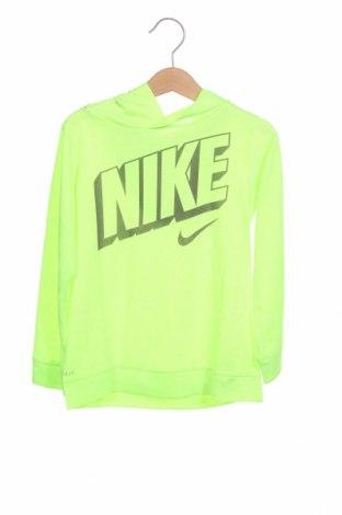 Παιδική μπλούζα Nike, Μέγεθος 3-4y/ 104-110 εκ., Χρώμα Πράσινο, Πολυεστέρας, Τιμή 24,08€
