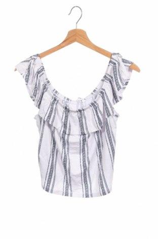 Детска блуза Supre, Размер 14-15y/ 168-170 см, Цвят Бял, 95% вискоза, 5% еластан, Цена 8,82лв.