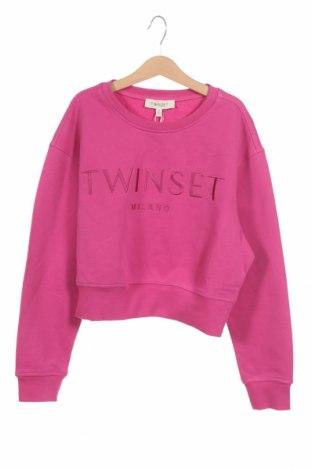 Παιδική μπλούζα TWINSET, Μέγεθος 11-12y/ 152-158 εκ., Χρώμα Ρόζ , Βαμβάκι, Τιμή 34,41€